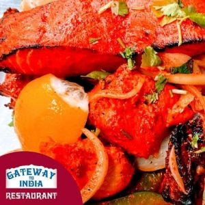 Gateway To India Restaurant | Salmon tikka