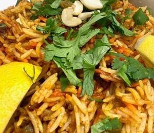 Gateway To India Restaurant | Vegetable Biryani